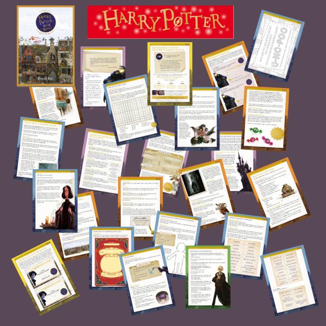 Harry Potter Actividades
